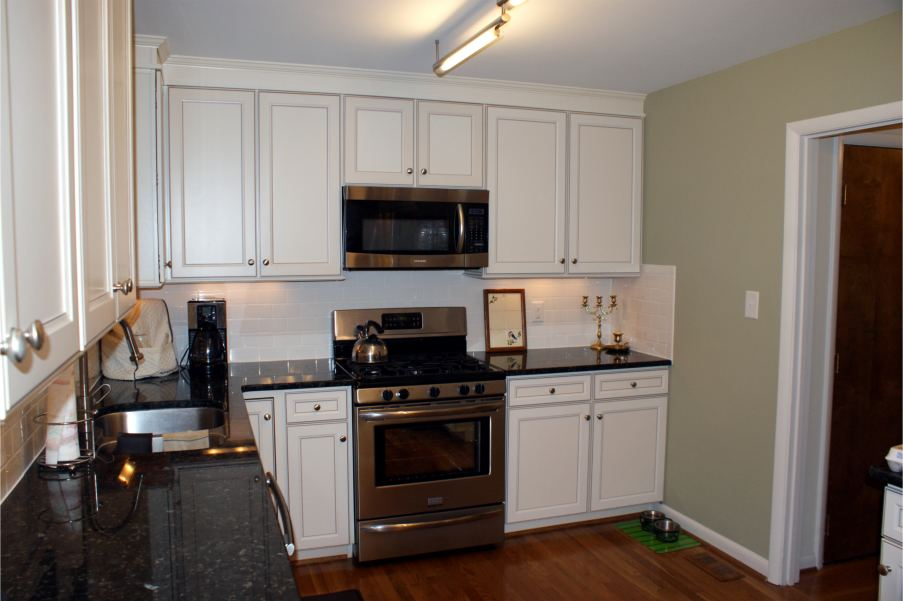 Kitchen in Cary NC after renovation