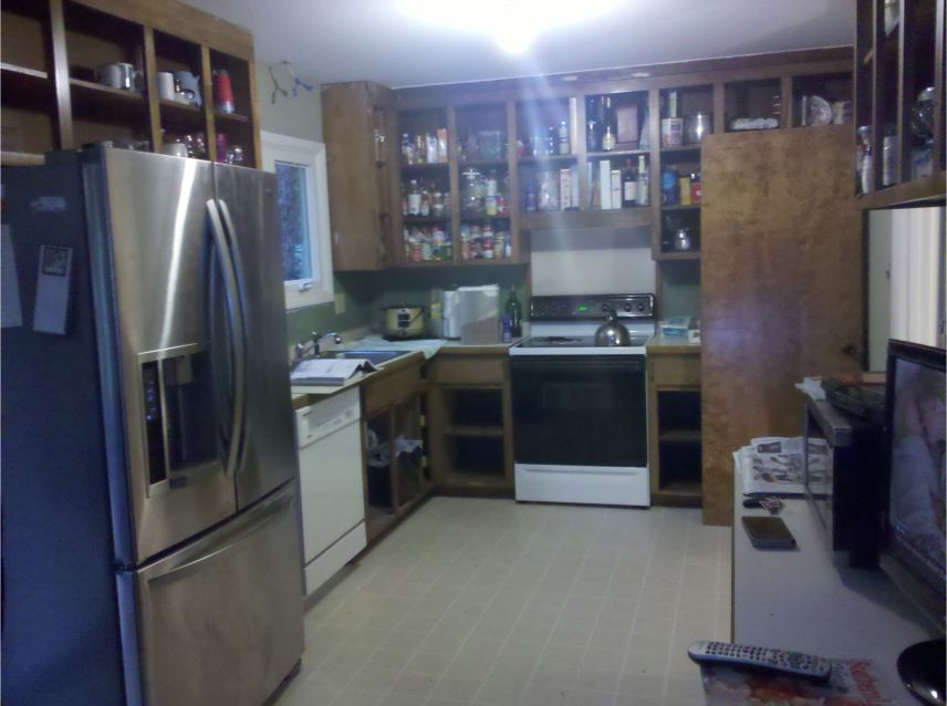 Kitchen in Cary NC before remodelling