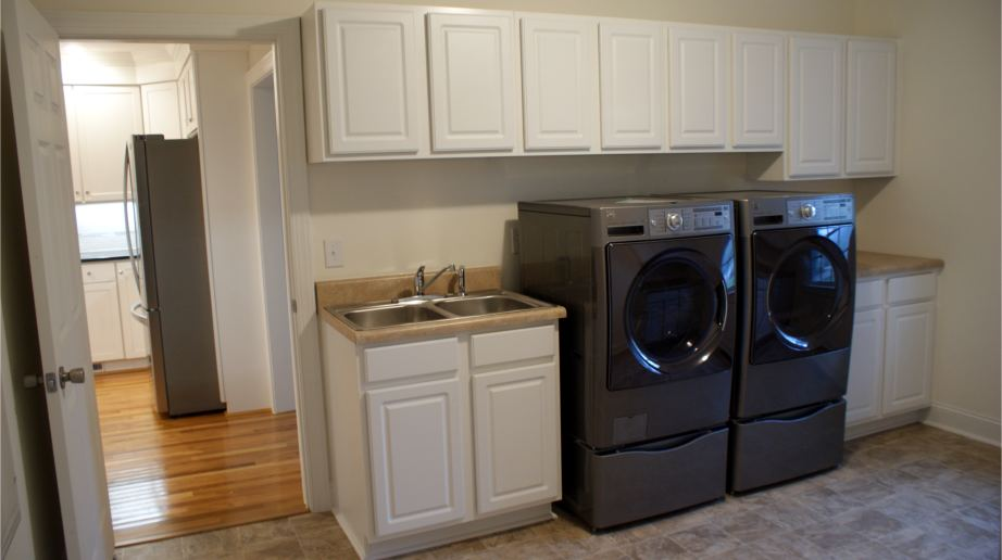 Updated laundry room in Johnston County